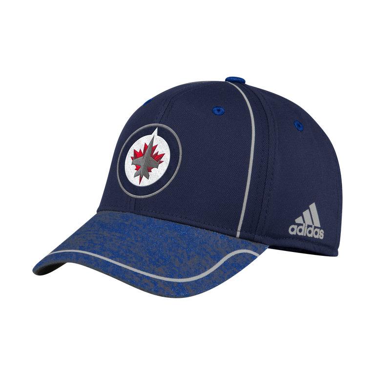 low cost 729dc 0334d Adidas NHL Alpha Flexfit Cap Lippis Winnipeg Jets