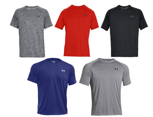 UNDER ARMOUR Men's EU Tech Short Sleeve Tee Aikuisten T-Paita
