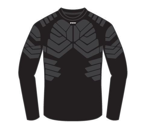 CCM LS BLK S17 JUNIOR MV-Suojapaita