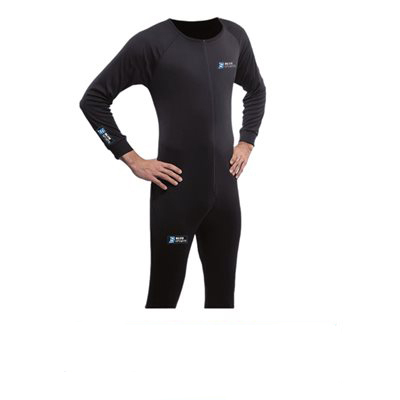 Hikipuku One Piece Suit Blue Sports