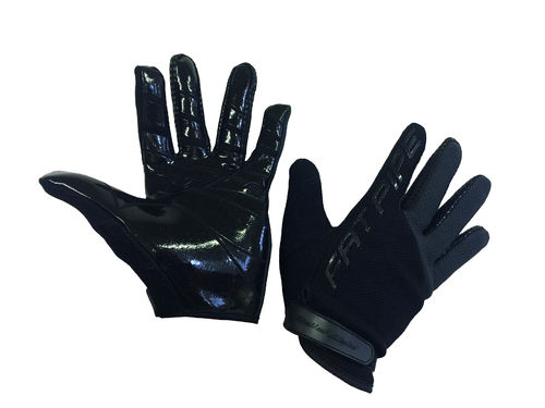Fat Pipe GK-Gloves With Silicone Palm BLACK MV-Hanskat