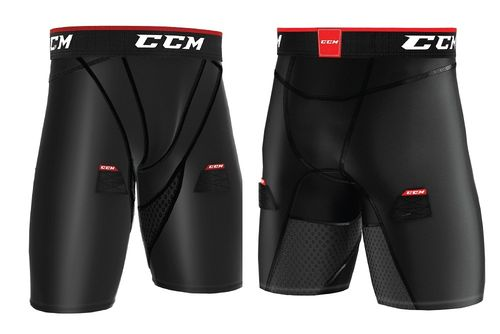 CCM Compression Jock Shorts S18 Senior Alasuojashortsit