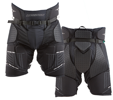 Mission Hockey Relaxed Fit RH Girdle Core Senior Small 1040234 Black Thermo Max