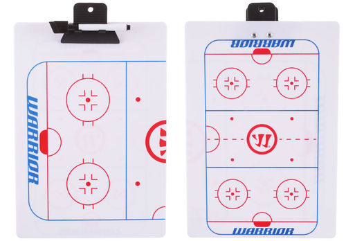 Taktiikkataulu Warrior Coaches Clip Board 30,5cm X 23cm