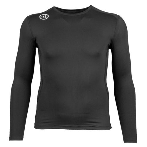 WARRIOR S19 Compression Long Sleeve Aluspaita SENIOR(Aikuisten) Musta