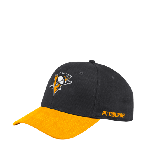 Adidas NHL Coach Flex Cap Pittsburgh Penguins S19 Lippis