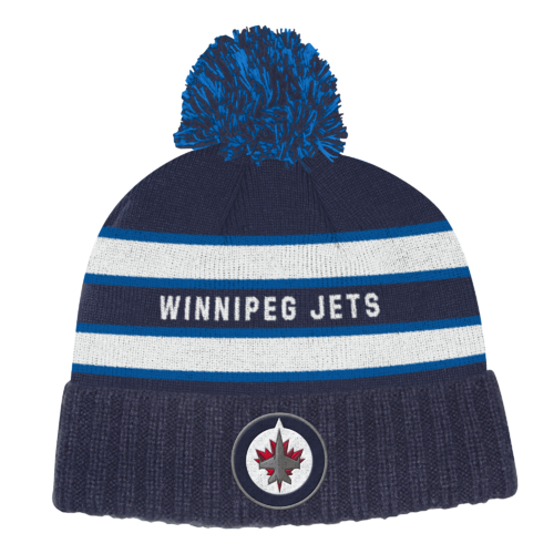 Adidas NHL Culture Cuffed Knit Pom Winnipeg Jets S19 Pipo