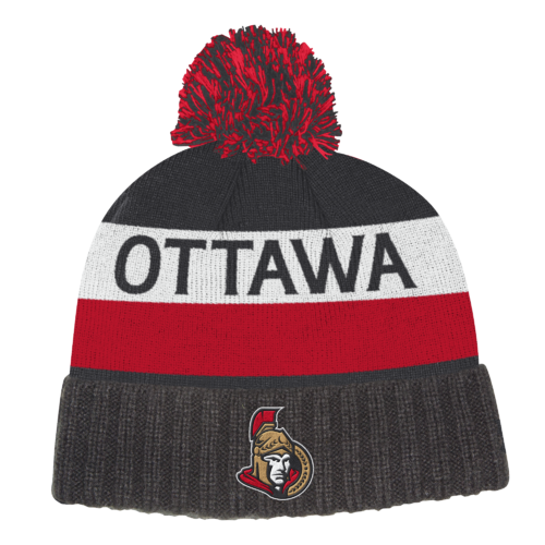 Adidas NHL Culture Cuffed Knit Pom Ottawa Senators S19 Pipo
