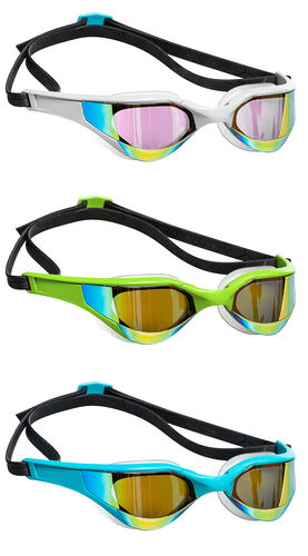 MAD WAVE Trainig Goggles RAZOR RAINBOW Uimalasit