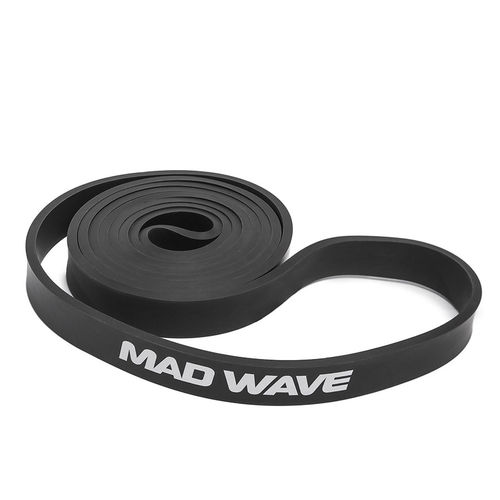 MAD WAVE Long Resistance Band Black Vastuskuminauha Musta