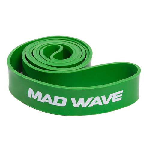 MAD WAVE Long Resistance Band Green Vastuskuminauha Vihreä