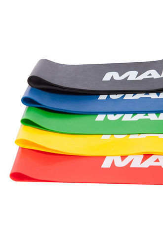 MAD WAVE Short Resistance Bands Set Vastuskuminauhat Setti