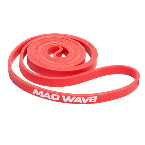 MAD WAVE Long Resistance Band Red Vastuskuminauha Punainen