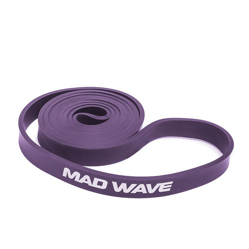 MAD WAVE Long Resistance Band Purple Vastuskuminauha Violetti